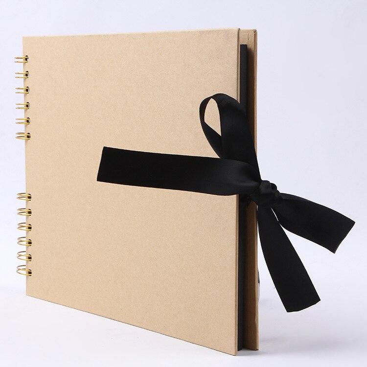 40 Pages Papier Album photo D'album de bricolage Artisanat Album Scrapbooking Album photo pour le Mariage cadeaux d'anniversaire
