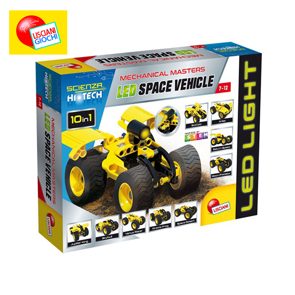 Фото - Interconnecting Blocks LISCIANI 65868 Designer Children Sorters Catamino Games Gear Toys Kids Building & Construction Toy weile technic city yellow ape moto model building blocks sets bricks kids classic toys for children compatible legoings creator