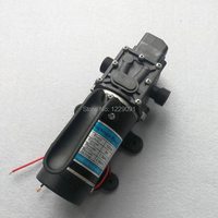 120W electric high pressure self priming small 12v 24v dc Water Pump 10L/min Diaphragm pump