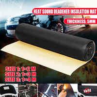 1 rouleau 5mm voiture Auto insonorisant coton isolation thermique Pad mousse matériel Automobiles accessoires d'intérieur