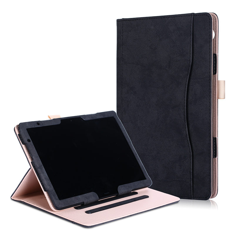 """PU Leather Cover Case For Huawei MediaPad M5 Lite 10 BAH2-L09 BAH2-W19 DL-AL09 W09 10.1""""Tablet Protective Hand Holder Case cover"""