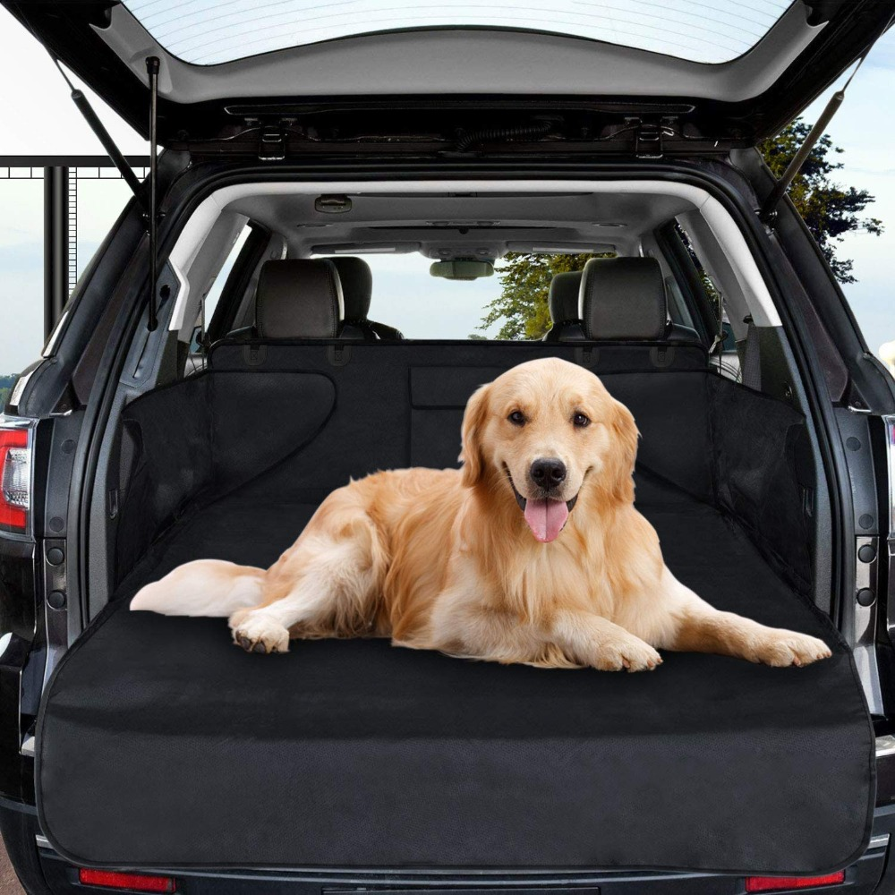 Dog Car Seat Cover Waterproof Boot Liner Trunk Car Cover Protector For Pets Auto Boot Liner Blanket Fits Most Cars Scratch-Proof