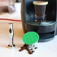 Pofessional Refillable Coffee Filter Reusable Coffee Capsule Set Scoop Brush Strainer FilteTaste Sweet for Nescafe Dolce Gusto