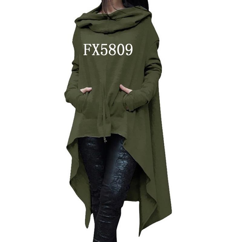 2018 nueva moda fe impresión Tops Kawaii sudadera mujeres sudaderas con capucha ropa de pana imprimir otoño grueso creativo
