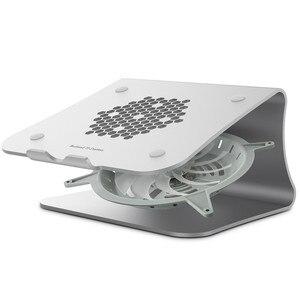 Laptop Stand-Bestand Laptop Stand com ventilador De Refrigeração De Alumínio cooling baixo