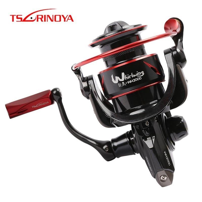 Tsurinoya Whirlwing Saltwater Fishing Spinning Reel 800 1000 2000 3000 8 1BB Max Drag 4 11kg