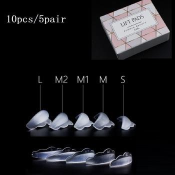 10 pc 5 Pair DIY silikonowe rzęsy Perm Pad pręty tarcza podnoszenia recyklingu 3D kuracja pobudzająca wzrost rzęs wielokrotnego użytku hurtownie TSLM1 tanie i dobre opinie FUNMIX Curling Grube Pożywne Krem nawilżający W pełnym rozmiarze MZ97484 Chiny Silicone perming Rods x5 pairs(S M M1 M2 L) Y-shape Perming Brushes x