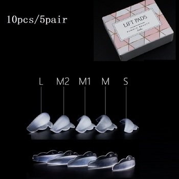 DIY Silicone Eyelash Perm Pad Rods Shield Lifting Eye