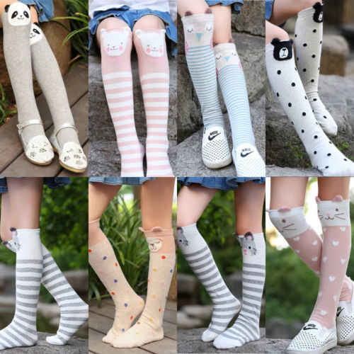 6a162044e Christmas Teenage Children Knee High No Heels with bow School Socks 3 -10  years Hot
