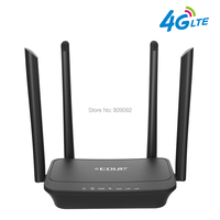 300Mbps Wireless Wifi Router 802.11b/g/n Wi Fi Router 4G LTE FDD Mobile Hotspot Routers CPE with SIM Slot LAN Port