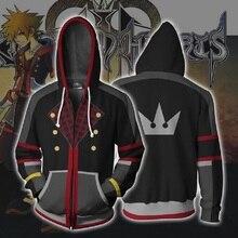 3D zipper hoodie königreich herz druck Cosplay unisex sweatshirt männer mit kapuze hoodie BIANYILONG marke benutzerdefinierte neue