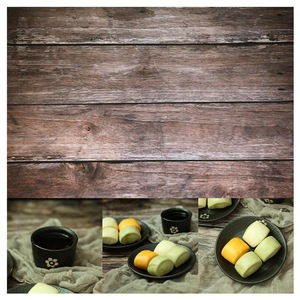 Image 5 - 56*88cm / 22*34.5in Double Sides Wood Marble Cement Wall Like Vintage Photography Background Backdrop Paper Board Prop For Food