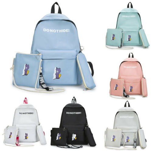 Backpacks School-Shoulder-Bag Youth Teenage-Girls Female High-Quality Fashion For Six-Colors