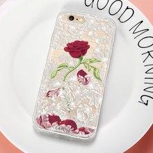 Caseier Girly Diamond Phone Case For iPhone X 7 8 6s 6 Cases Soft TPU Rhinestone Cover 10 5s 5 SE Funda Capinha