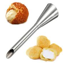 Cake Nozzle Cream Shop Decoration Kitchen Silver Baking Polishing Home Bakery Puffs House Stainless Pastry Steel(China)