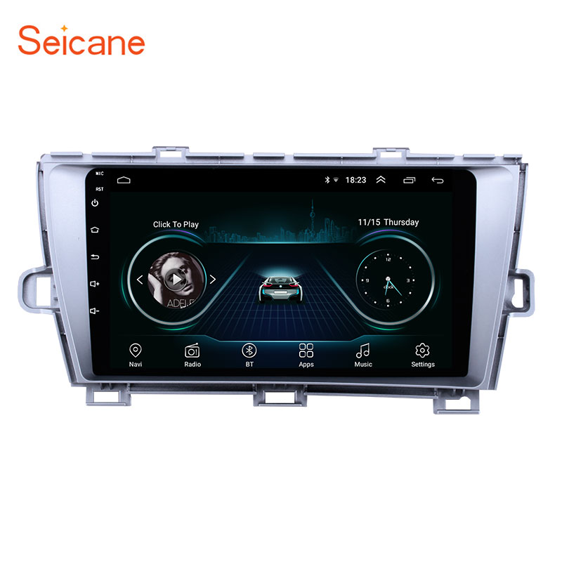 Seicane Android 8.1 2 Din Car radio Multimedia Video Player GPS For Toyota Prius 2009 2010 2011 2012 2013 Left hand driverSeicane Android 8.1 2 Din Car radio Multimedia Video Player GPS For Toyota Prius 2009 2010 2011 2012 2013 Left hand driver