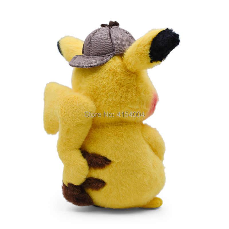 2019 film ve TV Anime karikatür dedektif Pikachu Mr. Mime peluş Peluche dolması bebekler kawaii oyuncak harika yılbaşı hediyesi çocuklar için