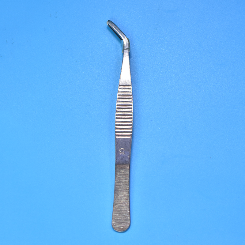 Stainless Steel Straight/Elbow Medical Tweezers First Aid Kit Accessories Surgery Tweezers Outdoor Survial Tool