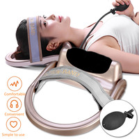Portable Manual Cervical Retractor Neck Massager Cervical Vertebra Relaxation Traction Physical Therapy Equipment Health Care