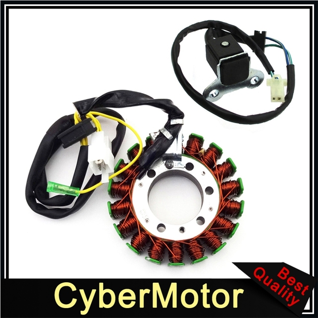 US $37 93 5% OFF|Magneto Stator With Pickup For 250 250cc Go Kart Buggy  Dazon BMS Roketa Kinroad Kandi-in Motorbike Ingition from Automobiles &