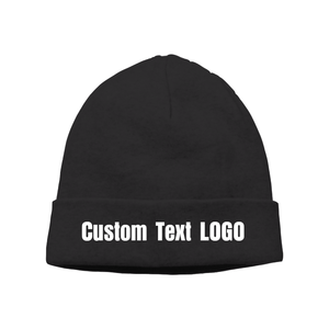 f0c050ffe52 Custom Printed Personalised Knit Beanie Hat Cap Any Logo