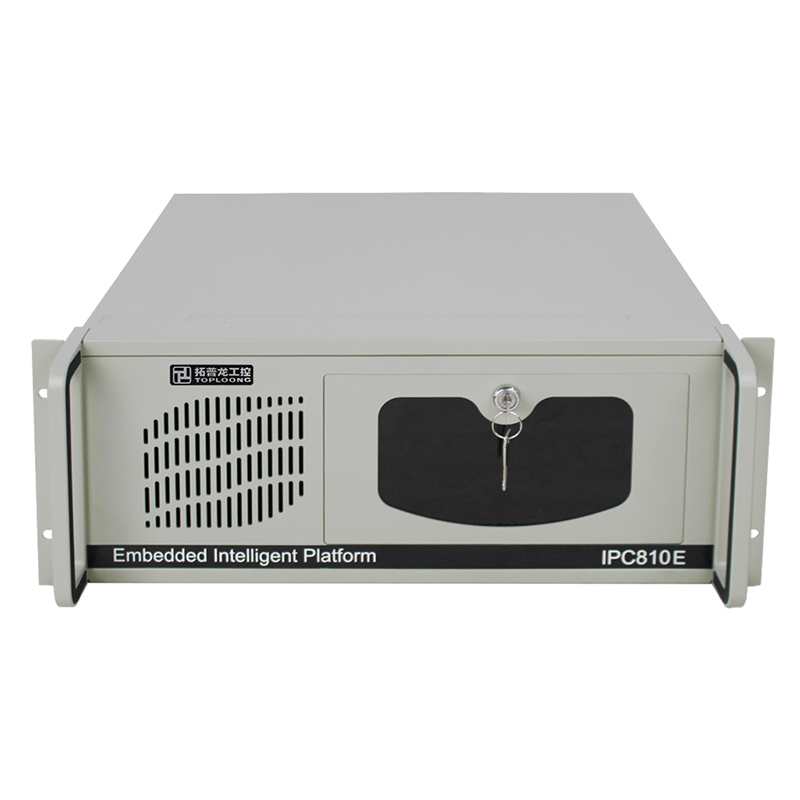 US $65 0  factory outlet 19 inches rack mount server chassis IPC810E  industrial computer 4U case anti static shockproof customizable 450MM-in  Computer