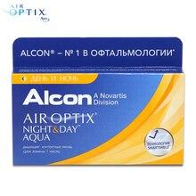 Контактные линзы Air Optix Night&Day Aqua(3 шт) R: 8.4
