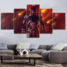 5 Piece Andromeda RPG Game Pictures Canvas Printed Wall Home Decor For Living Room Poster Wholesale