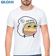 GILDAN New Summer YUNG LEAN UNKNOWN DEATH Sad Boys Men Short Sleeve T Shirts HipHop Rap Tee movie t-shirt