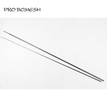 Pro Bomesh 2 Blanks 1.98M L ML 2 Section 30T Carbon Fiber Xrays Wrapping 3K Carbon Spigot Bass Rod Blank DIY Rod Building