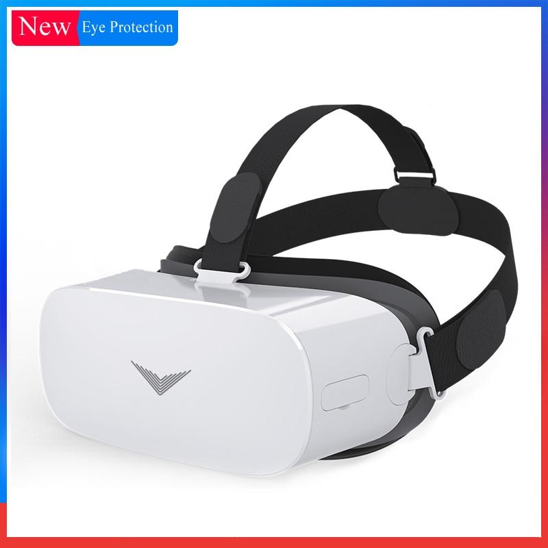 Wi Fi Bluetooth все в одном 360 градусов виртуальной реальности очки VR 3D Android картон с контроллером 2 ГБ 16 ГБ Android