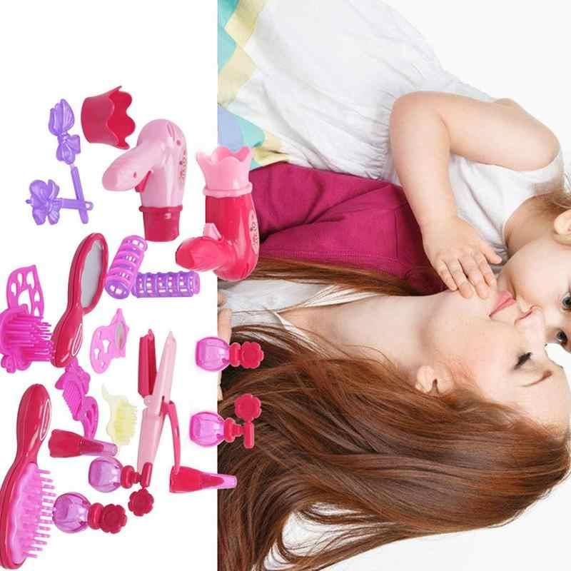 Модные аксессуары для салона красоты, детские игры, игрушки для моделирования, фен для волос, набор украшений для дома