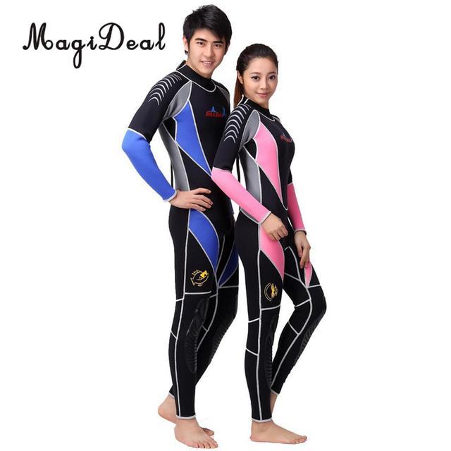 Neopreno de 3mm para hombre Surf/Snorkel/buceo/deportes acuáticos traje de buceo cálido traje de baño y espalda cremallera manga larga S/M/L/XL