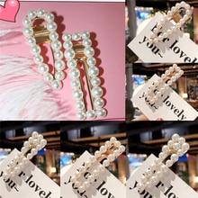 Элегантные жемчужные аксессуары для волос заколки для волос Заколки для женщин заколка для прически аксессуары для волос принцессы для девочек