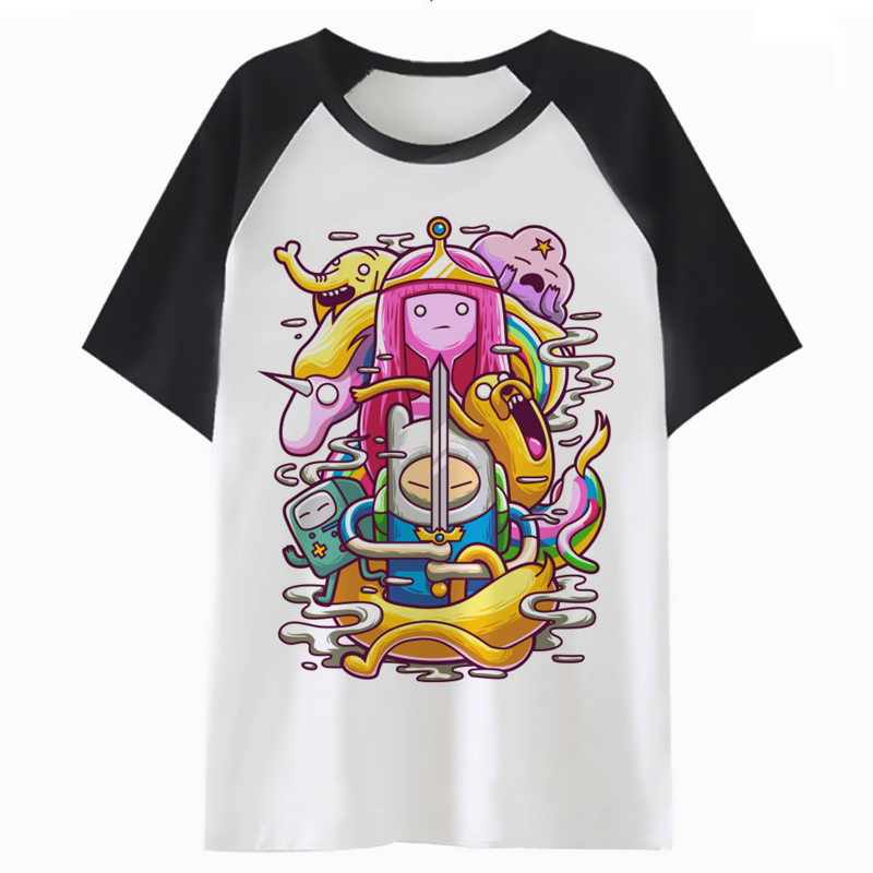 Adventure Time T Shirt Tee Fashion Tshirt Hip Hop Men Women Harajuku Top T-shirt Streetwear Male Female For Clothing