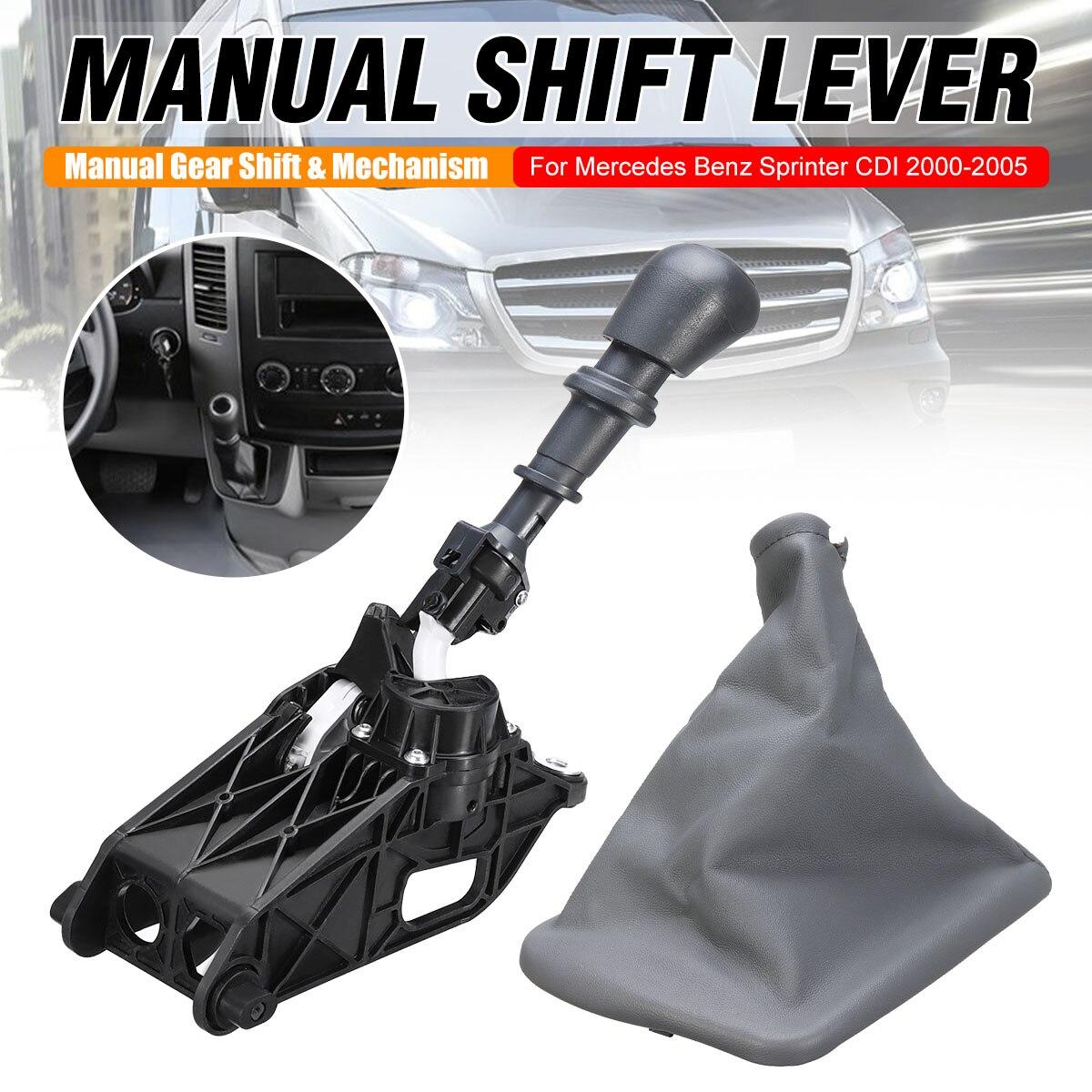 Nouveau mécanisme de changement de vitesse de voiture à 5 vitesses levier de levier de vitesse manuel pour Mercedes Sprinter CDI 2000-2005 bouton de changement de vitesse démarrage