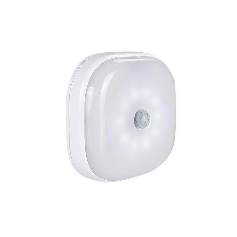 LED Human Body Motion Sensor Wall Light LED Battery Powered Night Lights For Closet Stairs Hallway Wall Cabinet Lamp Warm/White