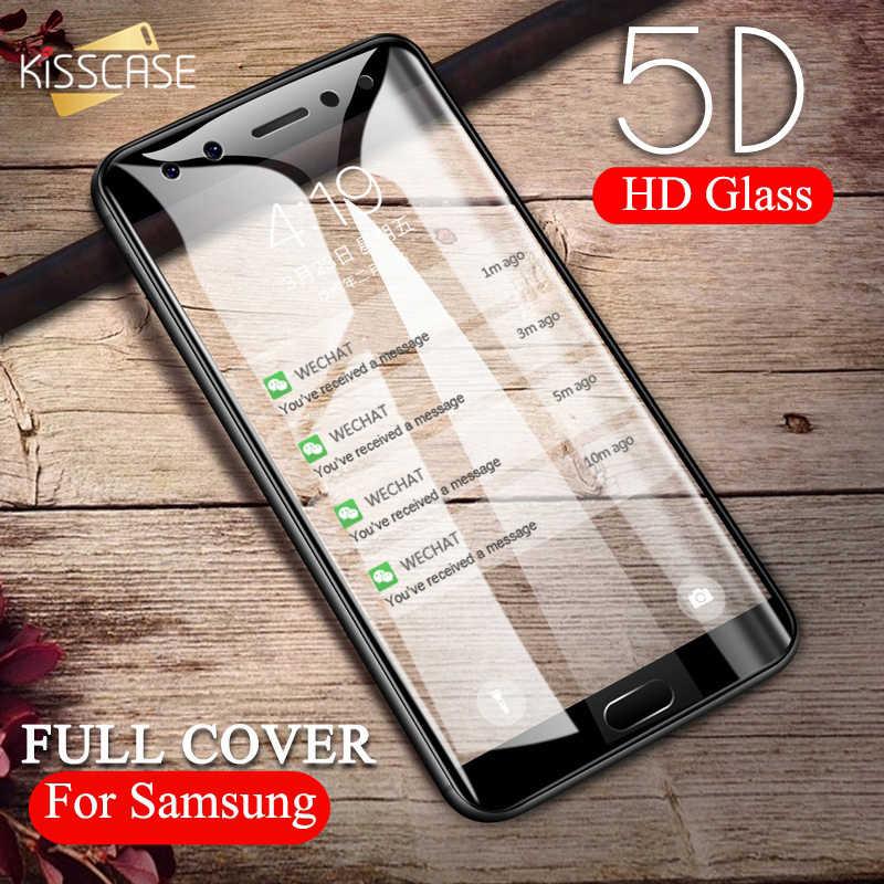 KISSCASE 5D закаленное Стекло для samsung Galaxy A5 A3 A7 J3 J5 2017 2016 HD Экран протектор A520 A6 A8 2018