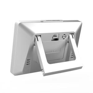 Image 5 - Baldr Draadloze Weerstation Digitale Touch Hygrometer Vochtigheid Meter Temperatuur Sensor Thermometer Indoor Outdoor Wandklok