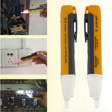 Non-contact Test Pencil 1AC-D Electroscope Safety Sensor Electric Pen Multi-function with LED Lights