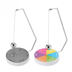 Swinging Pendulum Game Decision Maker ball Pendulum Dynamic funny Magnetic Desk Toy Gift Decor Fate Desk Toys(China)