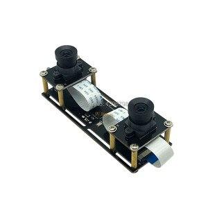 Image 3 - 1080P bez zniekształceń elastyczna synchronizacja Stereo kamera internetowa podwójny obiektyw 30FPS moduł kamery USB do 3D wideo VR wirtualna rzeczywistość