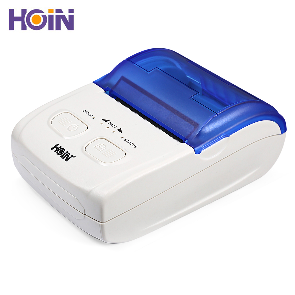 HOIN HOP H200 Portable Thermal Printer USB Bluetooth Mobile Receipt Ticket Printing Rechargeable Device for Android iOS WindowsHOIN HOP H200 Portable Thermal Printer USB Bluetooth Mobile Receipt Ticket Printing Rechargeable Device for Android iOS Windows