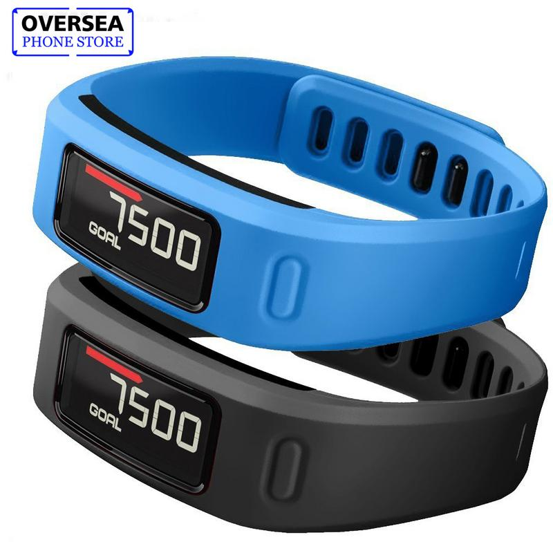 S/L Comfortable Silicone Replacement Watch Strap Wrist Band With Clasp For Garmin Vivofit 1 Smart Bracelet