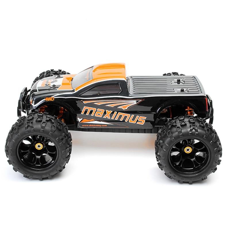 DHK 8382 Maximus 1/8 120A 85 KM/H 4WD KV2030 moteur sans brosse voiture RC pour enfants cadeau adultes jouets - 5