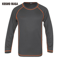 KOSMO MASA 2017 Quick Dry Breathable T Shirt For Men Tees Space Jersey T Shirts Man Anime Fitness Hip Hop Long T Shirts MC0286