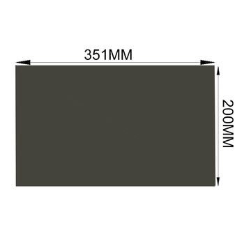 Free Shipping!!! 10PCS/Lot  Wholesale New 15.6inch 45degree LCD Polarizing Film Sheets Polarized