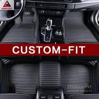 Car floor mat for Toyota FJ Cruiser Sequoia Tundra Hilux SW4 Fortuner 86 GT86 FT86 Previa CHR C HR Tarago Avanza Sienna liners