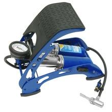 Насос автомобильный ножной KRAFT КТ 810002 (Рабочее давление - 7 АТМ, морозостойкость: