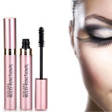 Kifini Makeup 4D Тушь для ресниц из шелкового волокна Водостойкая тушь для ресниц Rimel тушь для наращивания ресниц Черная Толстая Удлиняющая косметика для ресниц